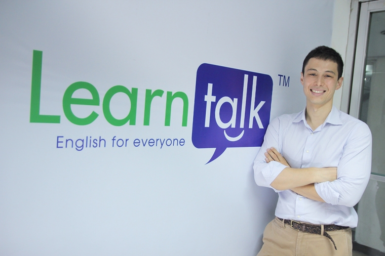 Nicolo Luccini, Founder of Learntalk